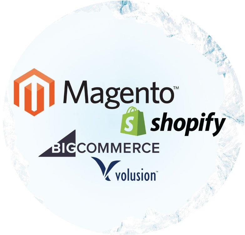 Magento-vs-Shopify vs Volusion vs Big Commerce