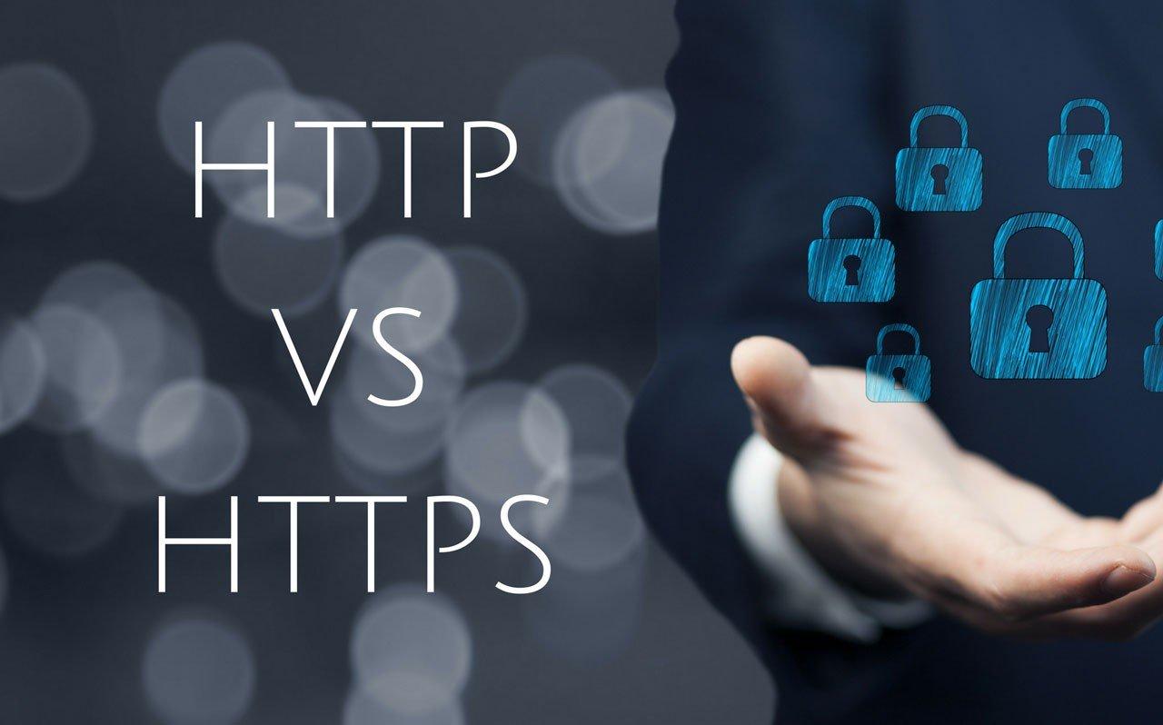 Google HTTP vs HTTPS
